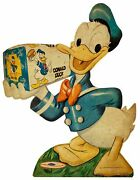 3 Donald Duck Bread General Store Style Heavy Duty Usa Made Metal Adv Sign