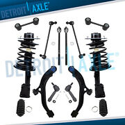 14pc Front Struts Lower Control Arm Kit For Town And Country Voyager Dodge Caravan
