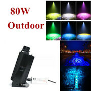 80w Outdoor Led Rotating Gobo Water Pattern Light Projector Night Light