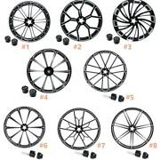 30and039and039 X 3.5and039and039 Front Wheel Rim Hub Single/dual Disc For Harley Electra Glide 08-20