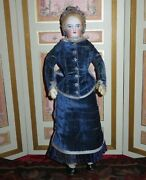 Sale Magnificent Paris Boutique A/o 12 1/2 Fg Painted Eyed French Fashion Doll