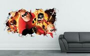 The Incredibles Disney Movie Angry Custom Wall Decals 3d Wall Stickers Art Ls294