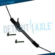 Complete Power Steering Rack And Pinion + Outer Tie Rods For Subaru Forester