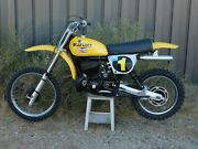 And03975 Suzuki Rn370 Decoster Works Replica And03978 Rm 400c Vintage Mx Motocross Moto-x