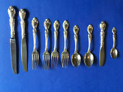 Gorham Melrose Sterling-great Investment A Deal 10 Piece Start Up Service For 2