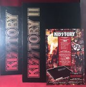 Jeff Kitts / Kisstory And Kisstory Ii Signed/ltd Editions W/ Slipcase Limited Ed