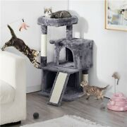 Cat Tree Tower 34 Activity Center Large Playing House Condo For Cats Kittens