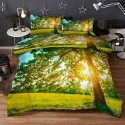 Green Indirect 3d Printing Duvet Quilt Doona Covers Pillow Case Bedding Sets