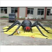 30ft Inflatable Spider Halloween Holiday Decoration With Blower Y