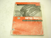 Harley-davidson Motorcycle 2002 Softail Models Parts Catalog Book 99455-02 Used