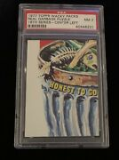 Wacky Packages 1977 Series 16 Real Garbage Puzzle C/l Psa 7 Nm