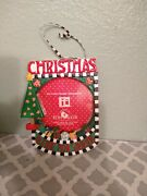 Mary Engelbreit Picture Frame Christmas Tree Ornament - A Time For Sharing