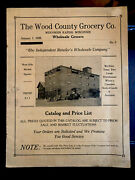 Vintage Original 1928 Wood Country Store Catalog Wisconsin Rapids Wi Prices Ads