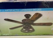 Used Westinghouse Barnett 48-inch Indoor Ceiling Fan With Dimmable Led Light Kit