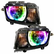 Oracle Dynamic Colorshift Headlight Assemblies For 2010-2013 Chevy Camaro Non Rs