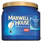 Maxwell House Coffee Ground Original Roast 30.6 Oz Canister 04648ct