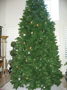 Artificial Christmas Tree Realistic Look Extra Tall 15 Ft. And Full Appearance