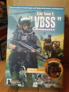 Action Figure 1/6 Hot Toys Vbss Commander - Figurine 12 Pouces Soldier Story Did