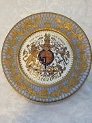 Royal Collection- Queen Elizabeth Ii Diamond Jubilee Charger Plate