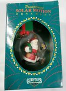Solar Motion Ornaments Christmas Traditions Santa Clause And Gifs With Box