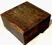 Bocote Wood Bowl Blank 6x6x3 Lathe Woodturning Projects Knife Handles Duck Calls