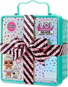 Lol Surprise Deluxe Present Surprise - Green Exclusive Doll And Pet