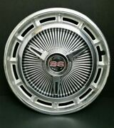 1 Vintage Oem 1965-66 Chevy Impala Ss 14 Spinner Hubcap Wheel Cover 03964523