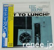 Eric Dolphy / Out To Lunch Japan Mini Lp Blue Note Cd W/obi Tocj-9079