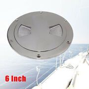 6 In. Inspection Plate Boat Deck Pull Up Hatch Access Cover Boat Marine Ss316