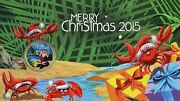 Australia 1 Dollar 2015 Merry Christmas Stamp And Coin Cover