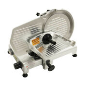 Meat Slicer Stainless Steel Rotary Blade Deli Food Cheese Commercial Grade 10