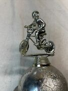 """Vintage 14"""" Tall Trophy Topper Bmx Bike Racing Rad Old School 1980s Freestyle"""