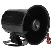Wired Electric Siren Horn For Indoor / Outdoor Security System Alarm 110db Dc