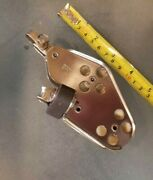 Schaefer 37mm Fiddle Block Stainless W Becket And Cam Hobie Cat Sailboat Dinghy