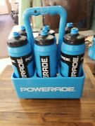 Powerade 32 Ounce Water Bottle Holder 6 Pack Carrier Sports Squeeze Bottles