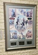 Vintage C.1977 The Lone Ranger And Tonto Limited Edition Autographed Poster