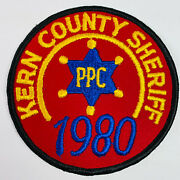Kern County Sheriff 1980 Ppc Police Pistol Combat California Patch A6