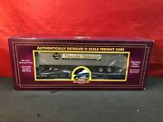 O Scale Mth Baltimore And Ohio 9920 Flat Car W/40' Trailer 20-98936
