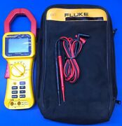 Fluke 355 Ac/dc Clamp Meter 2000 Amps True Rms - With Case And Leads 21250066
