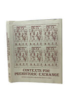 Vintage 1982 Anthropology College Textbook Contexts For Prehistoric Exchange