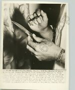 Knife Used In Hollywood Murder Charles H. Brown 1954 L.a. Crime Press Photo