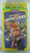 Jim Henson Video Vhs The Great Muppet Caper 1993 With Watch New And Sealed Rare