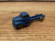 Lego 650-2 Ho Scale Bedford Flat Bed Rare Blue Truck 1960s Denmark Made Vintage