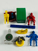 Lot 11 Premium Toy Prize Renwal Marx Air Pump Whistle Knights Driver Stamp