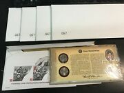 5 2004 Pandd Peace Medal Jefferson Nickel Sets Q67 - 4 Sealed In White Envelope