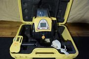 Leica Single Grade Red Beam Self Leveling Laser Level Model Rugby 300 Sg