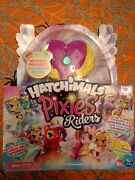 Hatchimals Pixies Riders Lilac Luna And Swanling Glider By Spin Master