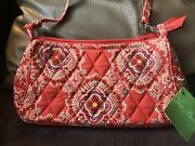 Vera Bradley Amy Small Cross Body Paprika Rare Retired New With Tags