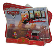 Disney Cars Mini Adventures Guido Pitty And Red Toy Truck Toy Car Set