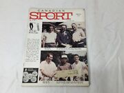 1962 October Canadian Sport Monthly Magazine Book Racing Montreal Canadiens Rare